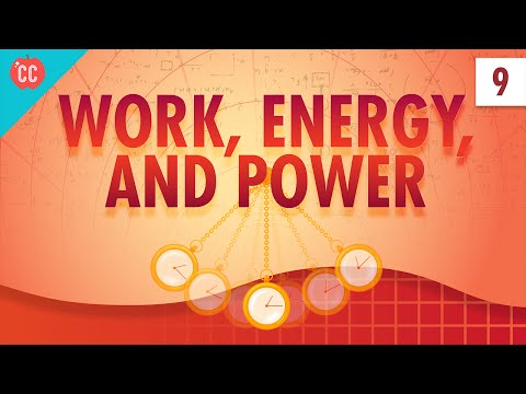 Work, Energy, and Power: Crash Course Physics #9