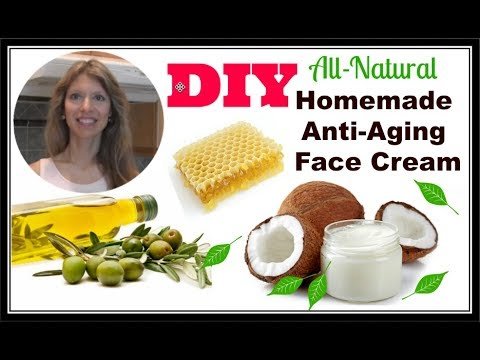 DIY Coconut Oil and More | Homemade Anti-Aging, Anti-Wrinkle Face Cream Beeswax Butter