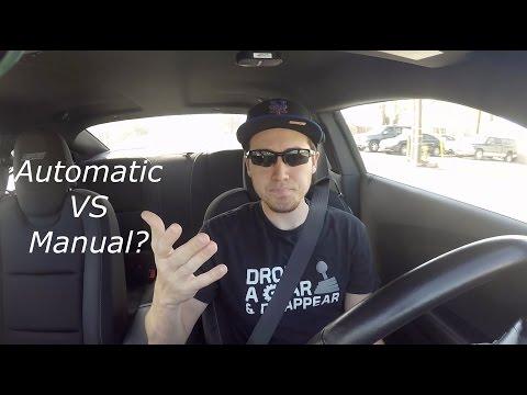 Automatic VS  Manual: Which do I prefer-Camaro Vlog 5