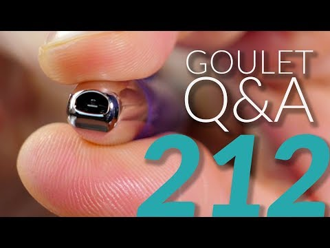 Goulet Q&A 212: New Website, Good Quality Ink, and Brian's Ethics for Reviewing Products