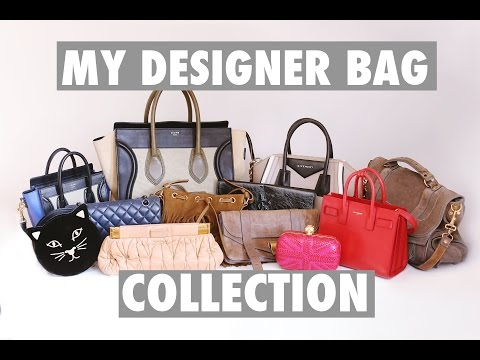 MY DESIGNER BAG COLLECTION 2016! | CHANEL, GIVENCHY, YSL, CELINE & More! | Amelia Liana