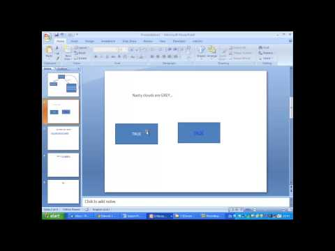MAKING AN INTERACTIVE QUIZ IN PPT