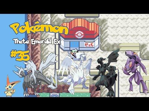 Pokémon Theta Emerald #35: Victini, Meloetta e Tao trio e Genesect