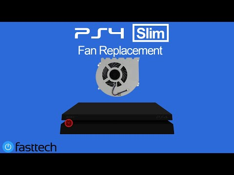 PS4 Slim Too Hot (Fan Replacement)