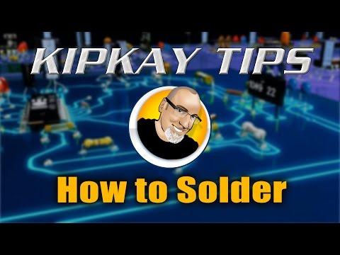 Kipkay Tips #1 - How To Solder