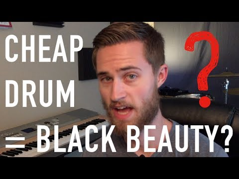 Can THIS Cheap Drum Sound Like a Black Beauty? |  Upgrading a Cheap, Used Snare
