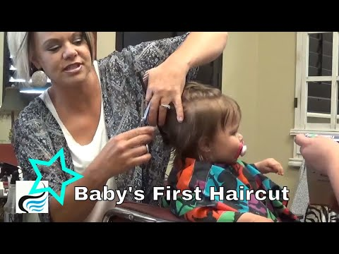 First Hairstyles 💛 Little Girls Babys ( First Haircut)