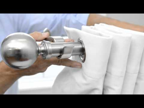 How To Hang Grommet Curtains & Panels