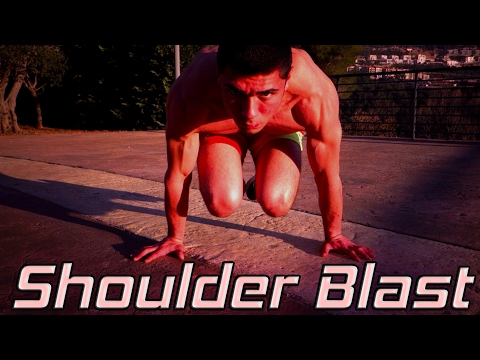 How To Get Bigger Shoulders Without Weights | 4 Must Do Exercises
