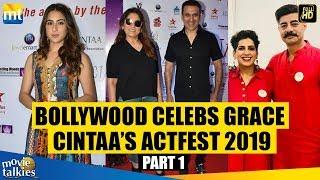 Sara Ali Khan, Archana Puran Singh & Sushant Singh @ CINTAA Actfest 2019 I Panel Discussion