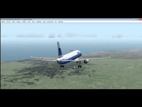 Air aruba Airbus A320 landing