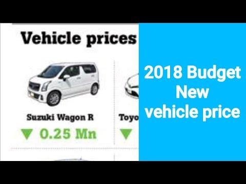 2018 budget car price HD