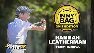 In My Bag With Hannah Leatherman