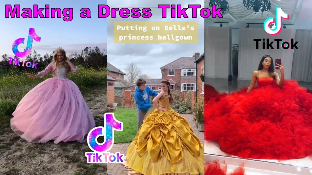 Making a Dress TikTok | Shay Compilation #makingadress #tiktok #Dress #fashion