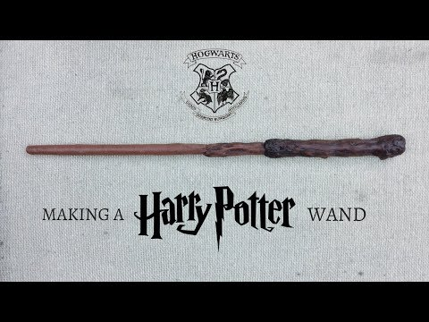 DIY HARRY POTTER WAND TUTORIAL | HOW TO MAKE A WAND