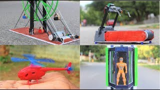 Download 4 Useful things from DC motor - SIMPLE INVENTION Video