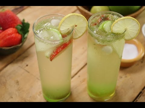 Green Apple Masala Soda | Sanjeev Kapoor Khazana
