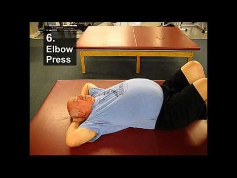 Fall Prevention Exercises (Posture Series) - Elbow Press