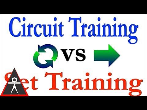Circuit Training vs Set / Rest Training