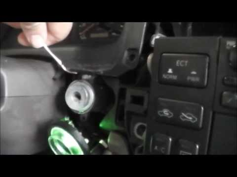1998 Toyota Avalon Ignition Cylinder and Switch Replacement - Electrical Draw Solution