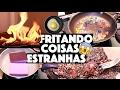 🔥 FRITEI COISAS ESTRANHAS E QUASE BOTEI FOGO NA CASA!!!🔥 👩🚒 😱    KIM ROSACUCA