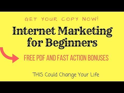 Internet Marketing For Beginners - How To Make Money Online - A Beginner's Guide