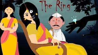 The Ring (एक अंगूठी) || (Hindi Animated Horror Story) || #Aam5