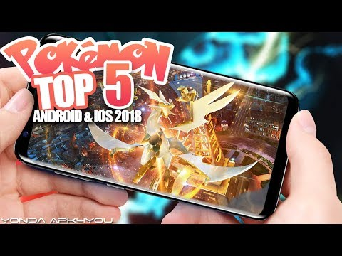 Top 5 New Pokemon Games May 2018 - Android IOS Gameplay