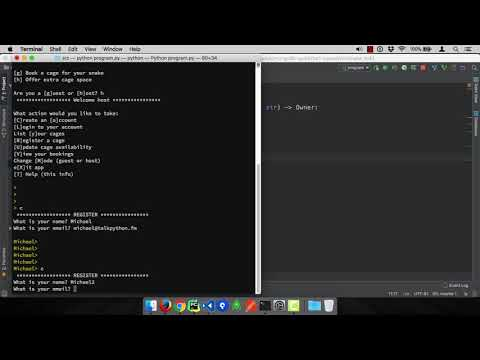 MongoDB and Python Quickstart (7/21): Demo: Create a new account
