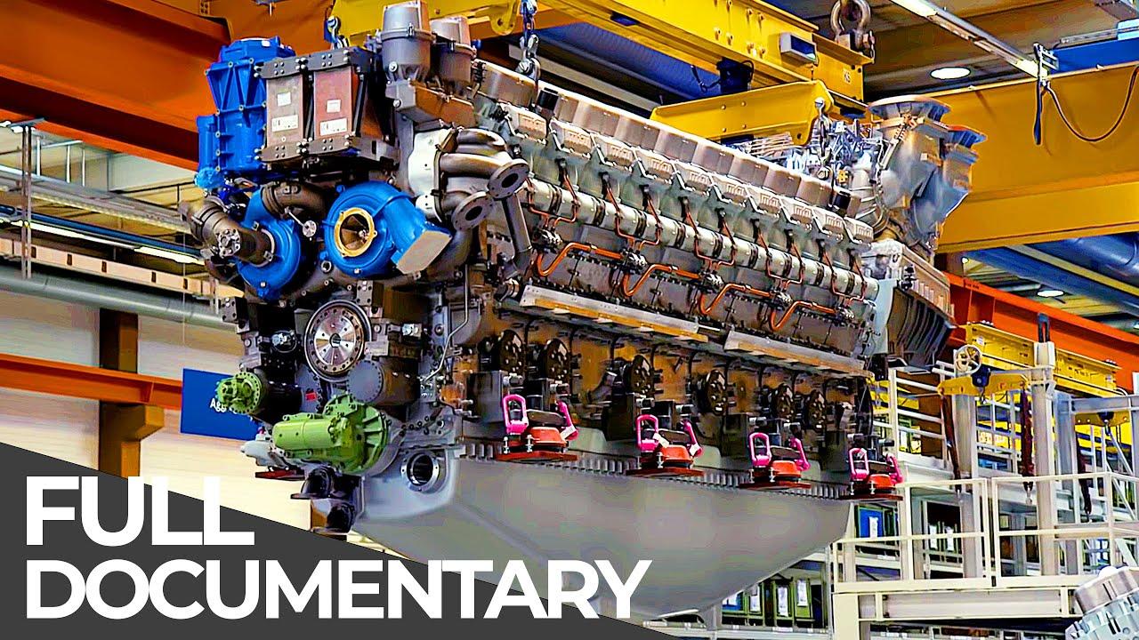 Exceptional Engineering   Mega Diesel Engine   Free Documentary