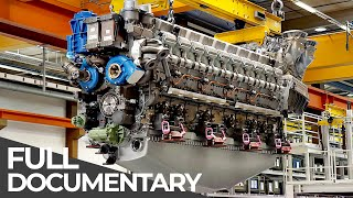 Exceptional Engineering | Mega Diesel Engine | Free Documentary