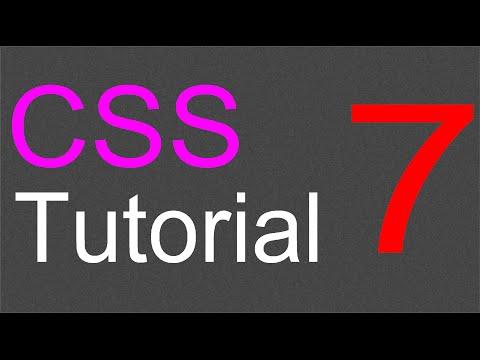CSS Layout Tutorial - 07 - Image sidebar