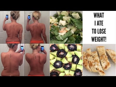 What I eat in a day to lose weight! | BeeisforBeeauty