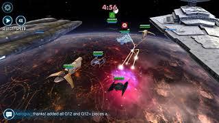 Swgoh Fleet - 4* Ht   Silencer Vs 7* Ht   Xanadu   Ghost