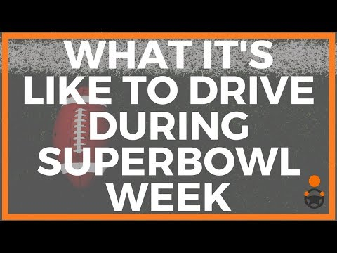 What It's Like To Drive During Superbowl Week [Joe Explains]