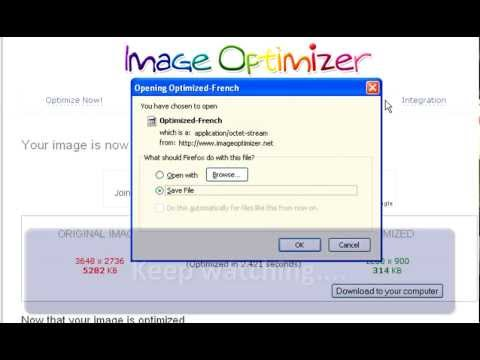 how to reduce a picture file size. Make photos smaller tutorial.