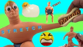 Download Squishy Toys World's Smallest Stretch Armstrong Slime Putty Video