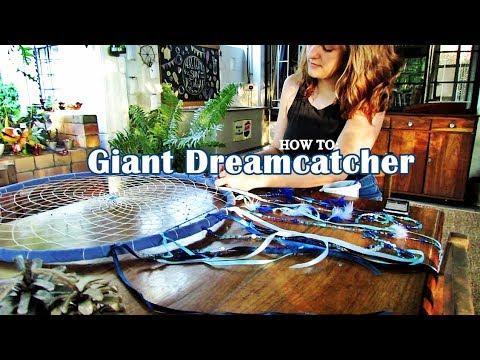 Giant Dreamcatcher Tutorial Video