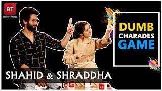 Batti Gul Meter Chalu Movie Cast Shahid Kapoor & Shraddha Played A Fun-filled Dumb Charades Round