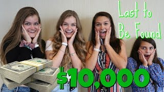Last To Be Found WINS $10,000 Dollars! Sardines Hide and Seek!