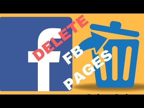 How to delete a facebook page or business page permanently