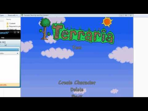 How to Create a Terraria Server [Cracked and Paid Versions] [Hamachi]
