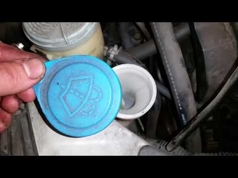 2005-2010 Honda Odyssey Minivan - How To Fill Windshield Window Washer Fluid