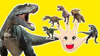 Finger Family Crazy Dinosaur Family Nursery Rhyme  Funny Finger Family Songs For Children In 3D #3