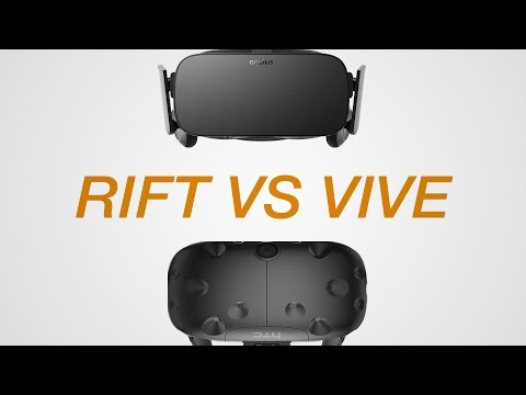 HTC Vive VS Oculus Rift - Which Should You Buy?