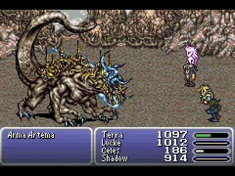 Final Fantasy VI-Boss Battle #19-Atma Weapon