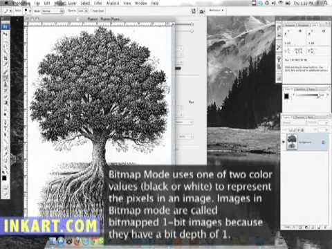 How to Scan a Pen and Ink Drawings