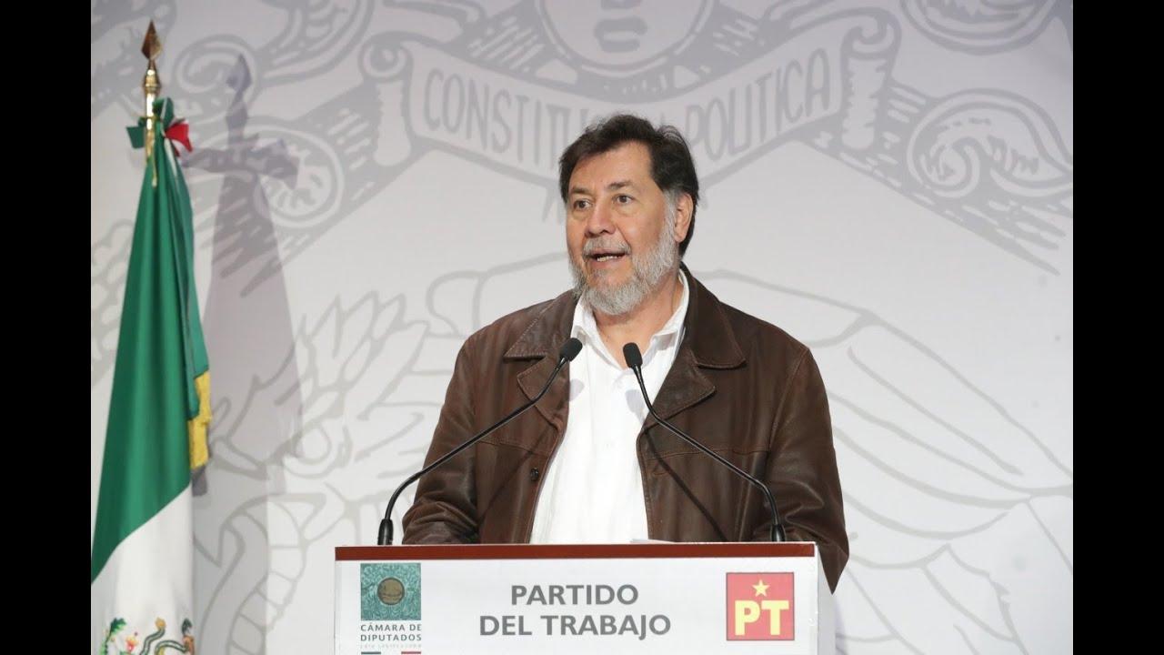 EN VIVO / Conferencia de prensa del Dip. Gerardo Fernández Noroña (PT)