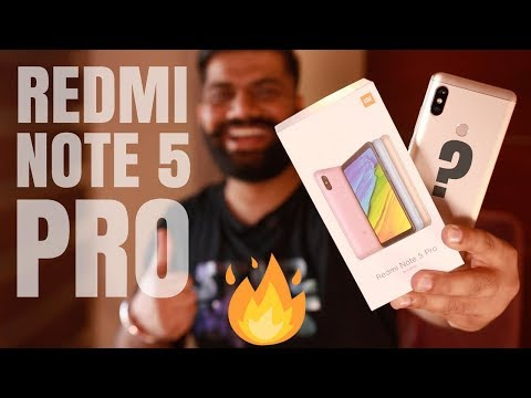 Xiaomi Redmi Note 5 Pro Unboxing and Giveaway 🔥🔥🔥