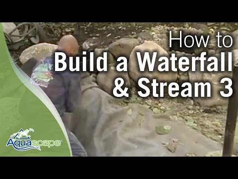 How to Build a Waterfall and Stream Part 3